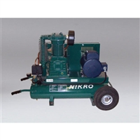 Nikro 860324 5 H P 220v 2 Stage 175 Psi Portable
