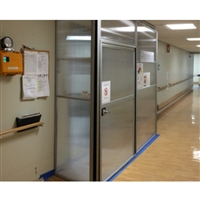 8 X 2 Anteroom Type Enclosure With Adjustable Panels