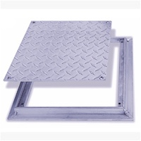Fd 8060 Floor Door Non Hinged Flush Diamond Plate The
