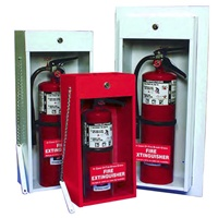 Fire Extinguisher Cabinet Semi Recesed Economy The
