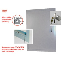 Williams Brothers Exterior Access Door